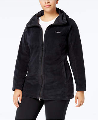 Columbia Plus Size Benton Springs Hooded Fleece Jacket