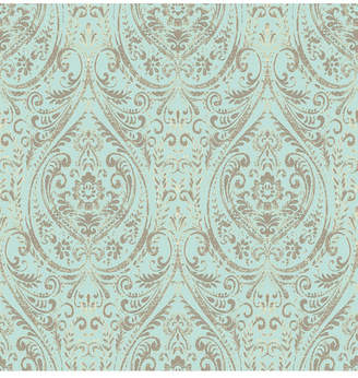 Brewster Home Fashions Nomad Damask Peel and Stick Wallpaper