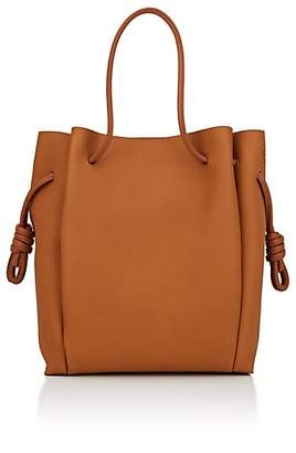 Loewe Women's Flamenco Knot Leather Tote Bag - Camel