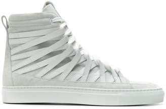 Damir Doma x Officine Creative strappy hi-top sneakers