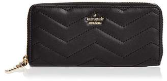 Kate Spade Reese Park Lindsey Zip-Around Leather Wallet