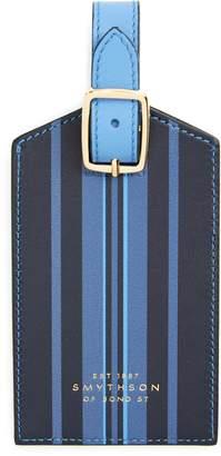 Smythson Hero Leather Luggage Tag