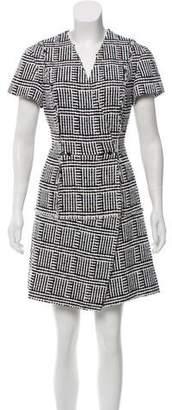 Proenza Schouler Tweed Double-Breasted Dress