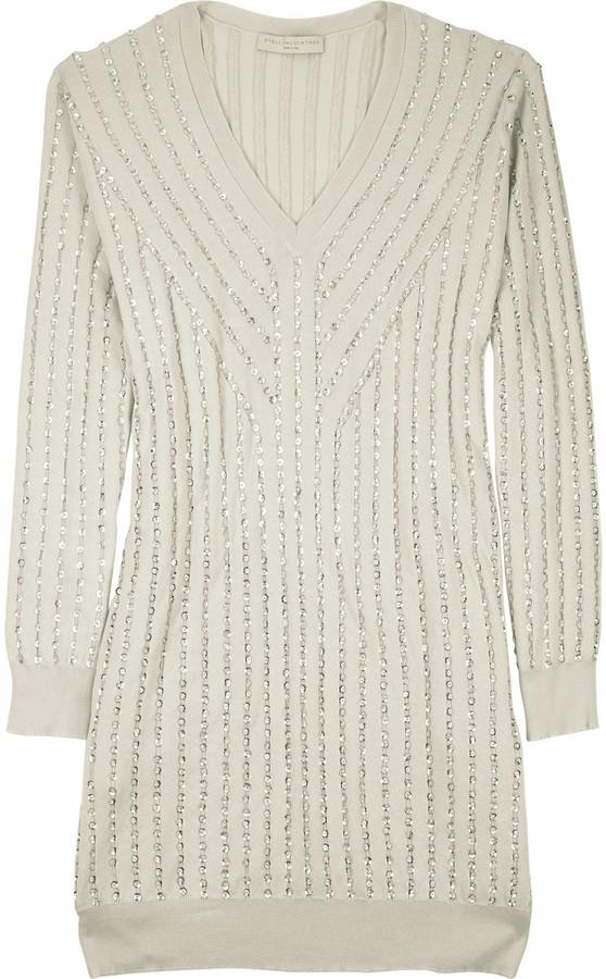 Stella McCartney Paillette embellished dress