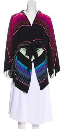 Mara Hoffman Striped Knit Silk Top
