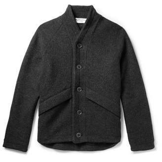 YMC Boiled Wool Jacket - Men - Charcoal