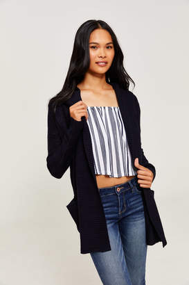 Ardene Thick Knit Hooded Cardigan
