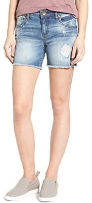 KUT from the Kloth Women's Gidget Frayed Short