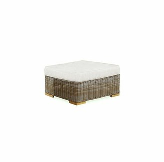 Rosecliff Heights Brianna Deep Seating Outdoor Ottoman with Cushion Rosecliff Heights