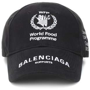 Balenciaga World Food Programme cotton cap