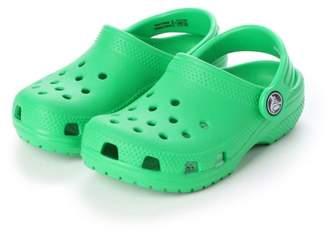 Crocs (クロックス) - LOCONDO クロックス crocs 204536 クラシック キッズ (グラスグリーン)