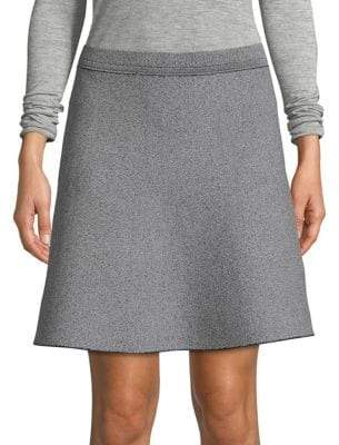 Theory Marl Skater Skirt