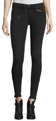 rag & bone/JEAN RBW23 Moto Skinny Jeans, Alcove $275 thestylecure.com