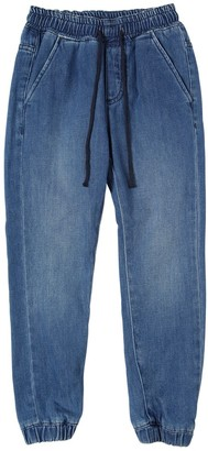 Finger In The Nose Stretch Cotton Denim Jeans