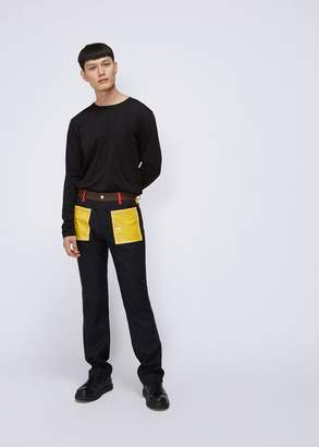 Maison Margiela Skinny Colorblock Pant
