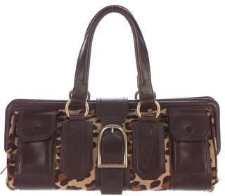 CelineCéline Ponyhair Handle Bag