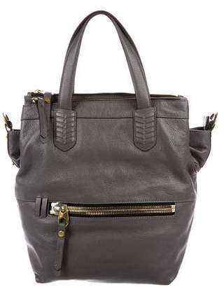 Oryany Smooth Leather Satchel