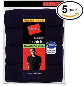 Hanes Ultimate Men's 5-Pack FreshIQ Big Crew T-Shirts