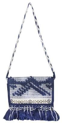 AMERICA & BEYOND Navy Blue Crossbody Bag