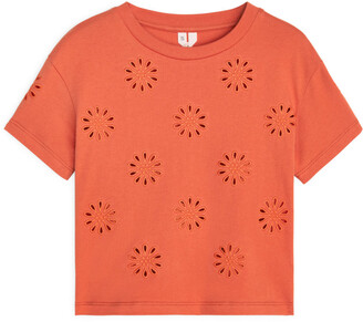Arket Embroidered T-Shirt