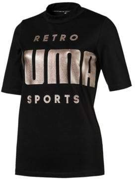 Puma Retro Short-Sleeve Tee