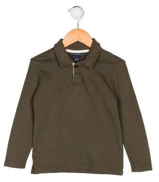 Oscar de la Renta Boys' Knit Collared Shirt