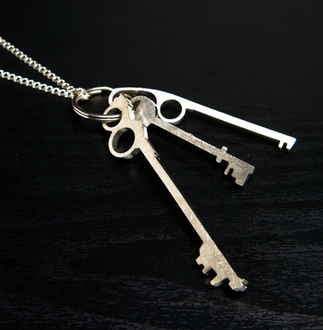 Surface 2 Air Keys Necklace