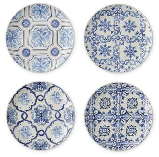 Williams-Sonoma Williams Sonoma Porto Patterned Appetizer Plates, Set of 4