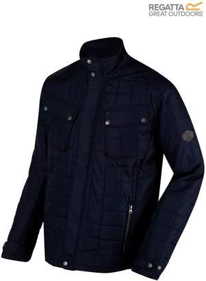 Next Mens Regatta Navy Lamond Quilted Jacket