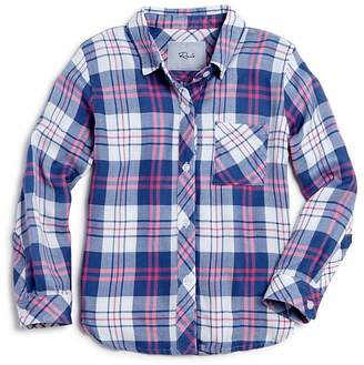 Rails Girls' Hudson Plaid Shirt - Little Kid, Big Kid