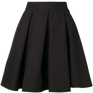 Valentino pleated skater skirt