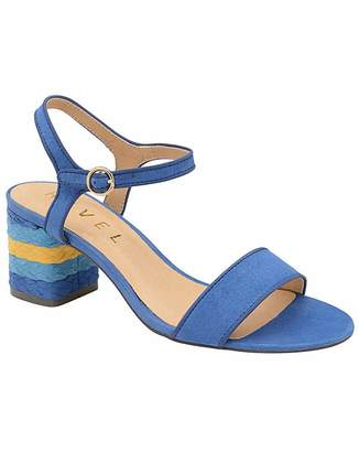 d9665b7be8a8 Blue Block Heel Sandals For Women - ShopStyle UK