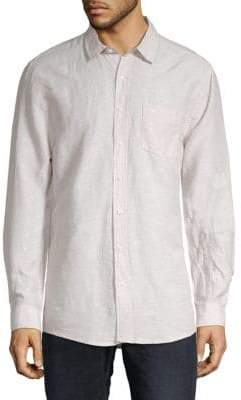 Saks Fifth Avenue Linen Tencel Shirt