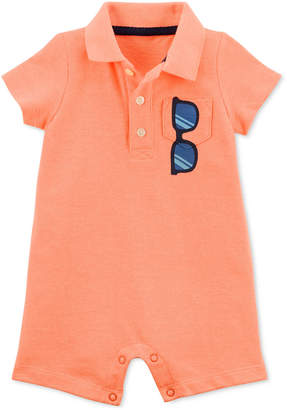 Carter's Baby Boys Polo Romper