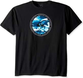 Quiksilver Young Men's Resin Feel T-Shirt