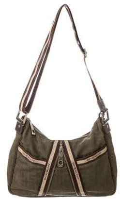 Givenchy Nylon Messenger Bag Olive Nylon Messenger Bag