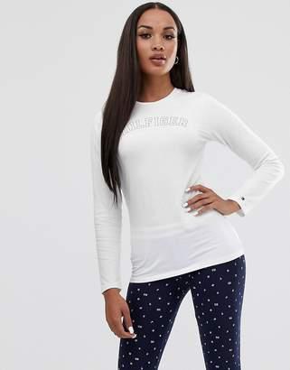 Tommy Hilfiger Cotton Iconic logo long sleeve pyjama set