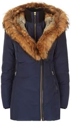 Mackage Akiva Down Fur-Lined Hooded Coat