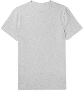 Acne Studios Edvin Mélange Stretch-Cotton Jersey T-Shirt