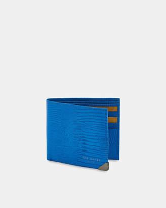 Ted Baker SCOLLA Lizard bi-fold wallet
