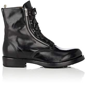 Officine Creative Men's Leather Lace-Up Boots - Black