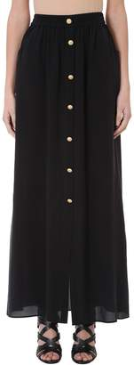 Pierre Balmain Black Long Skirt