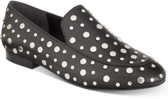 Kenneth Cole New York Westley Studded Smoking Flats Women Shoes