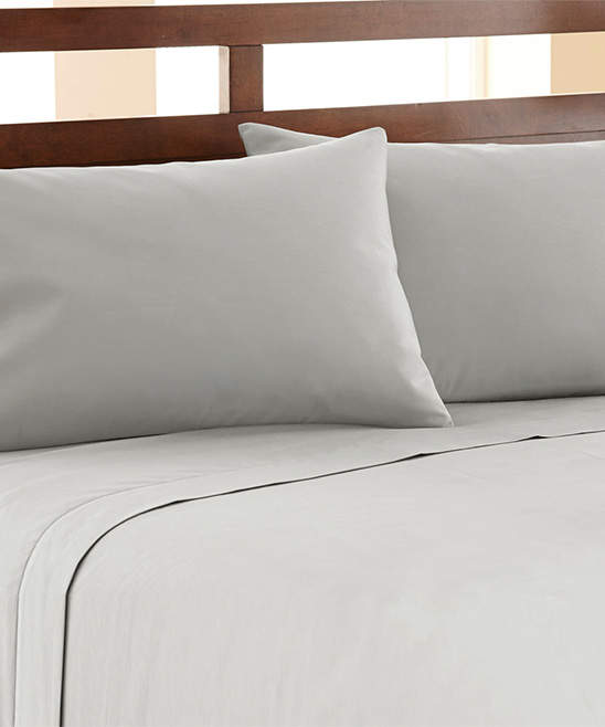 Platinum 1,200-Thread Count Cotton-Blend Sheet Set