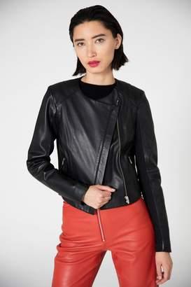 Veda Dali Orion Leather Jacket Black