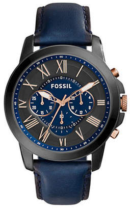 Fossil Mens Chronograph Grant Watch FS5061