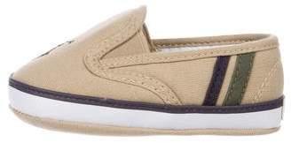 Ralph Lauren Boys' Canvas Slip-On Sneakers w/ Tags