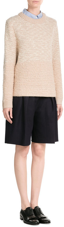 See By ChloeSee by Chloé Wool Pullover with Metallic Thread
