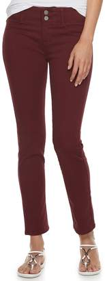 Apt. 9 Petite Modern Fit Comfort Waistband Straight-Leg Jeans