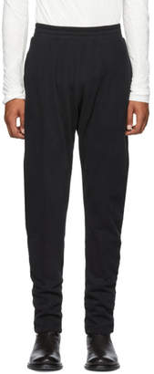 Ann Demeulemeester Black Tapered Grimm Lounge Pants